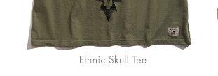 ETHNIC SKULL TEE