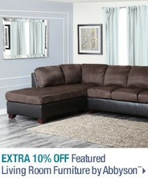 Extra 10% off Featured Living Room Furniture by Abbyson**
