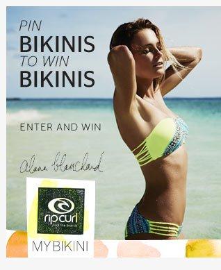 Pin Bikinis to Win Bikinis - Enter To Win - Alana Blanchard - My Bikini