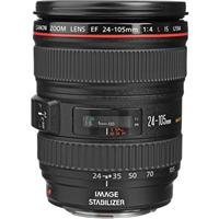 Canon EF 24-105mm f/4L IS USM AutoFocus Wide Angle Telephoto Zoom Lens - Canon U.S.A. Warranty