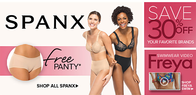 SPANX - Free Panty With Purchase - See Details