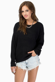 Waffle Knit Sweater $39