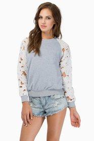 Fleur My Sleeve Sweater $50
