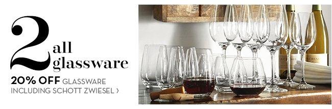 2 all glassware