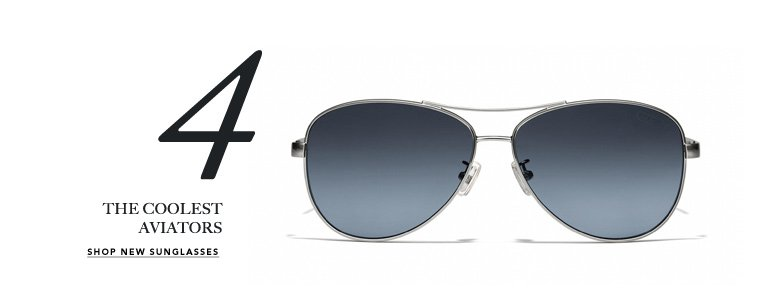 4 THE COOLEST AVIATORS - SHOP NEW SUNGLASSES