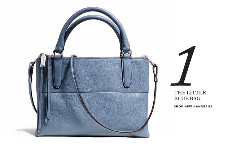 1 THE LITTLE BLUE BAG - SHOP NEW HANDBAGS