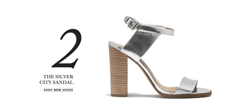 2 THE SILVER CITY SANDALS - SHOP NEW SHOES