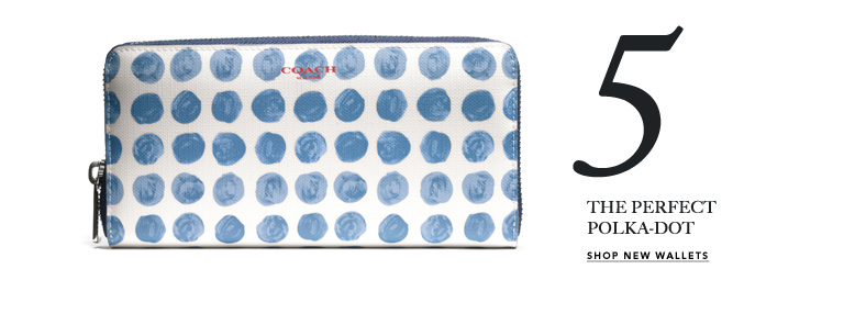5 THE PREFECT POLKA-DOT - SHOP NEW WALLETS