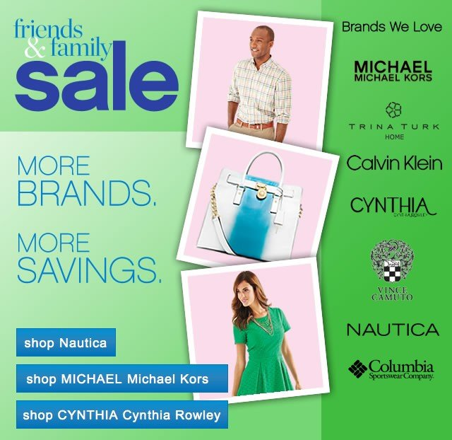Friends and Family Sale. Don't Miss This Event.