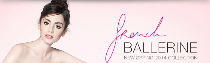 fRench BALLERINE | NEW SPRING 2014 COLLECTION