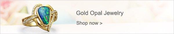 Gold Opal Jewelry