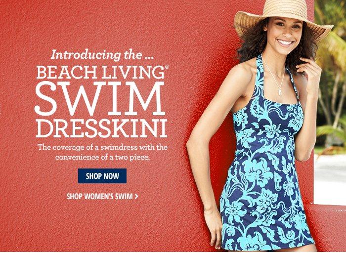 Introducing…Beach Living Swim Dresskini