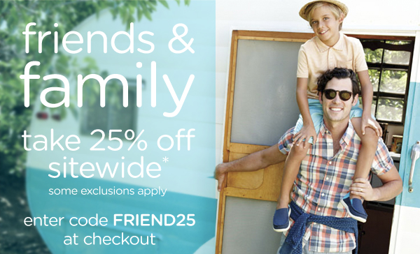 friends & family take 24% off sitewide