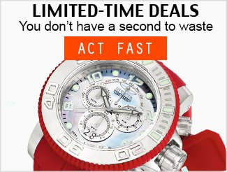 Invicta Limited-Time Deals
