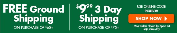$9.99 for 3 Day Shipping!