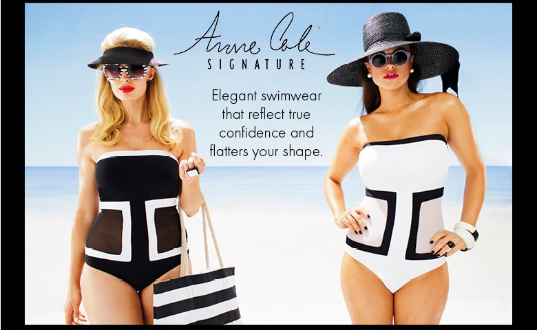 Anne Cole Swimwear is for You