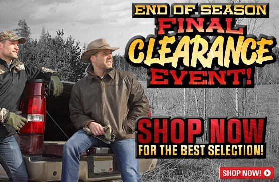 Sportsman's Guide's End-of-Season Final Clearance Event! Shop Now for the Best Selection...