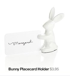 Bunny Placecard Holder