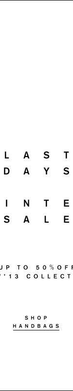 FW13 winter sale