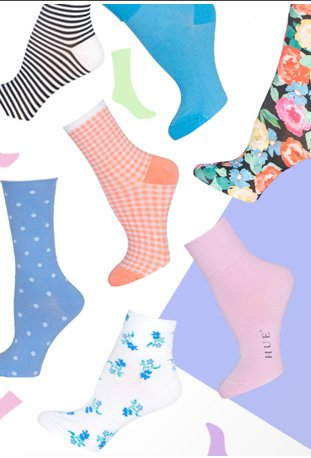 Freshen up your footwear with our amazing selection of tights and socks!