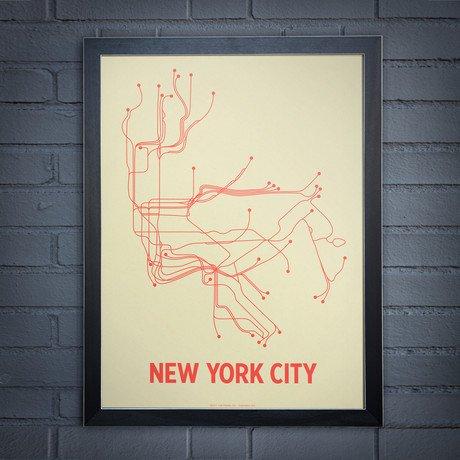 NYC Screen Print