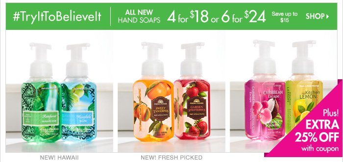 Hand Soap - 4 for $18