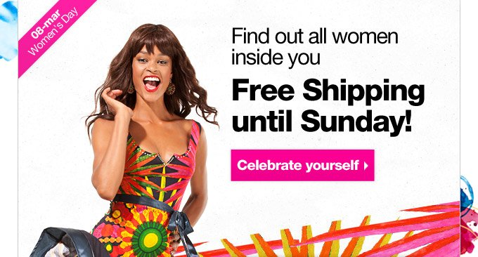 Free Shipping until Sunday!