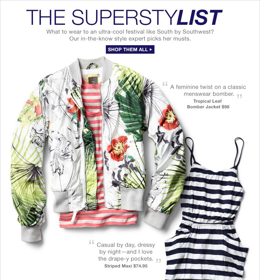 THE SUPERSTYLIST | SHOP THEM ALL