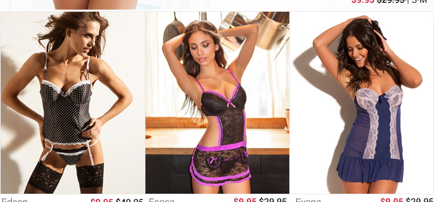 See lingerie on sale