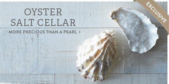 Oyster Salt Cellar