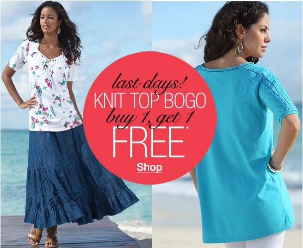 Last Days of the Knit BOGO! Buy 1, Get 1 Free!