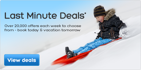 Last Minute Deals* - updated daily.
