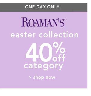 Shop Roaman's Easter Collection