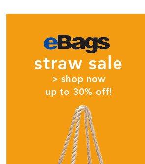 Shop eBags Straw Sale