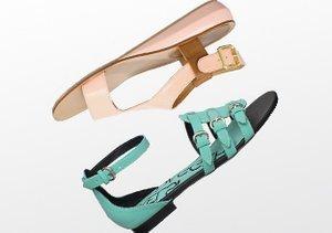 Spring Steps: Flat Sandals & Flats