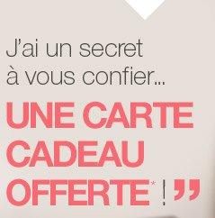 J'ai un secret à vous confier