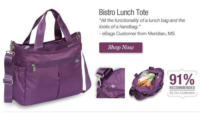 Bistro Lunch Tote - Get it Now!