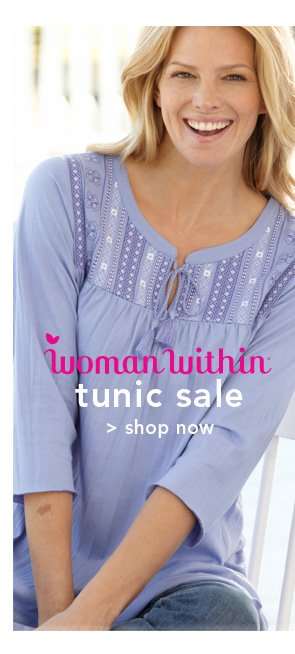 Shop Woman Within Tunic Sale