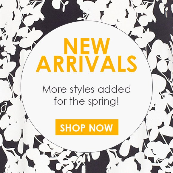 JUST IN! New Arrivals!