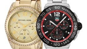 Michael Kors, Diesel, Tag Heuer - Our Bestselling Watches