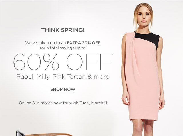 Up to 60% off Raoul, Milly & more