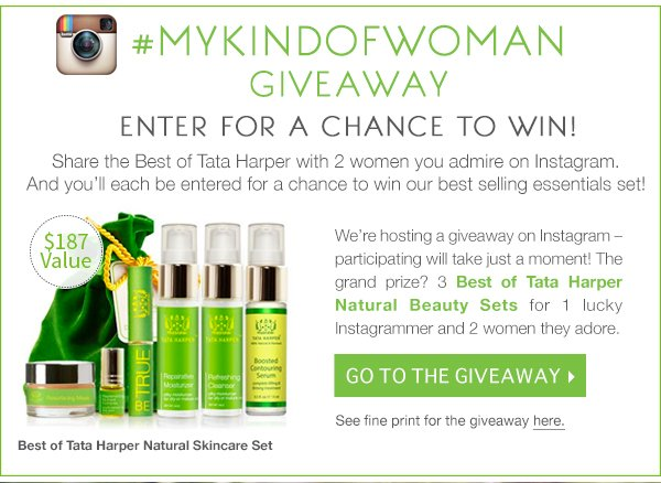 Enter for a Chance to Win on Instagram