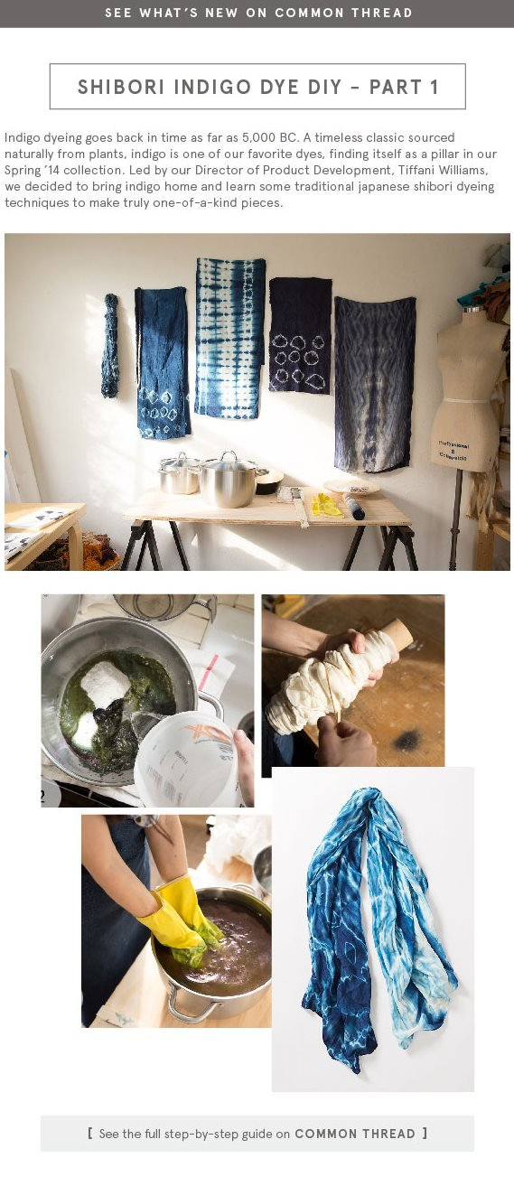 Shibori Indigo Dye DIY Part 1