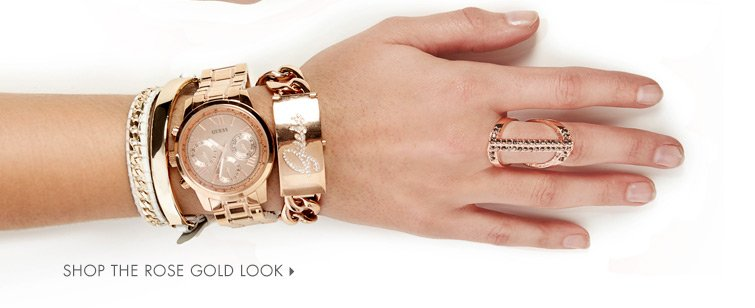 SHOP THE ROSE GOLD LOOK