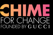 CHIME FOR CHANGE FOUNDED BY GUCCI