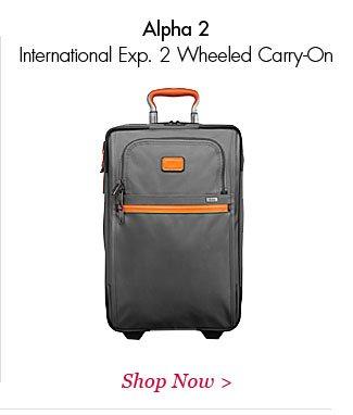 Alpha 2 International Exp 2 Wheeled Carry-On   Shop Now