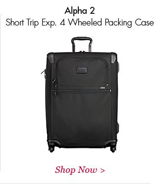 Alpha 2 Short Trip Exp 4 Wheeled Packing Case | Shop Now