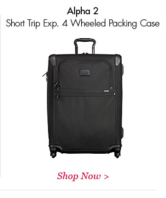 Alpha 2 Short Trip Exp 4 Wheeled Packing Case   Shop Now