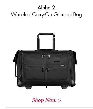 Alpha 2 Wheeled Carry-On Garment | Shop Now