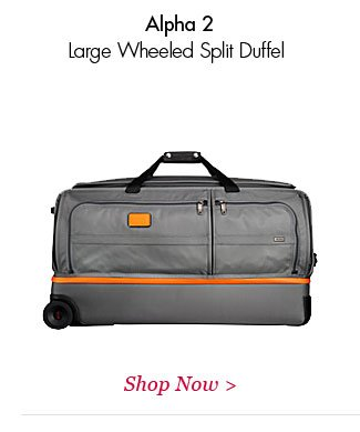 Alpha 2 Large Wheeled Split Duffel | Shop Now